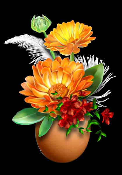 Tube bouquet de fleur!